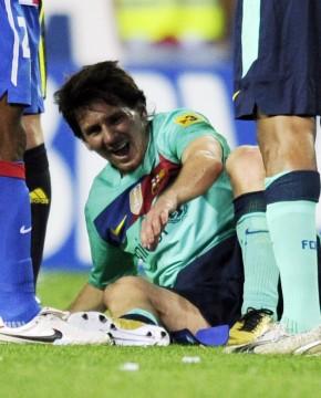 Messi I Smerter 20 September 2010 10 Af 10 Billeder Lionel Messi