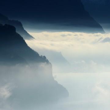 Fog Over Lake Lucerne