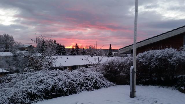 solopgangen i Silkeborg