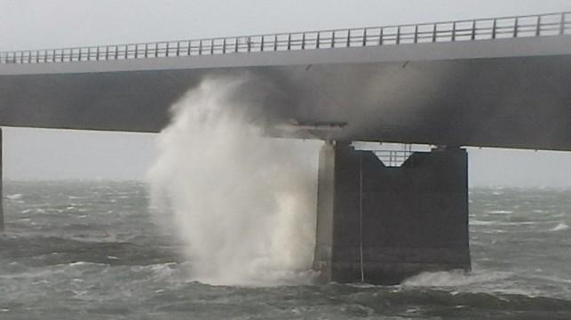 Stormen Egon over Korsør 1012015