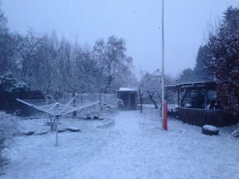 Den første julesne i Søborg