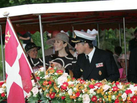 Frederik og MAry på Baden, dem der SKAL sejle ud til Odense Zoo