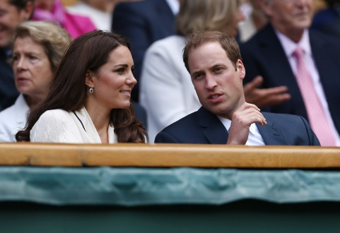 Kate og William