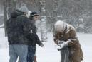 Galleri: Snestorm i Moskva Juledag den 25/12 2014