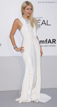 65th Cannes Film Festival ­ amfAR Gala, Paris Hilton