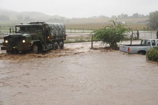 Oversvømmelser i Colorado