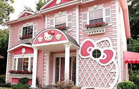 Hello kitty hus - Maison de poupee hello kitty ...