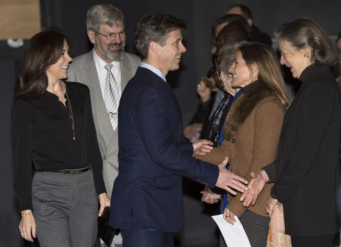 Den Sorte Diamant Kronprinsen og Kronprinsessen deltager i arrangementet International Forfatterscene i anledning af udgivelsen af Kofi Annan's erindringsbog